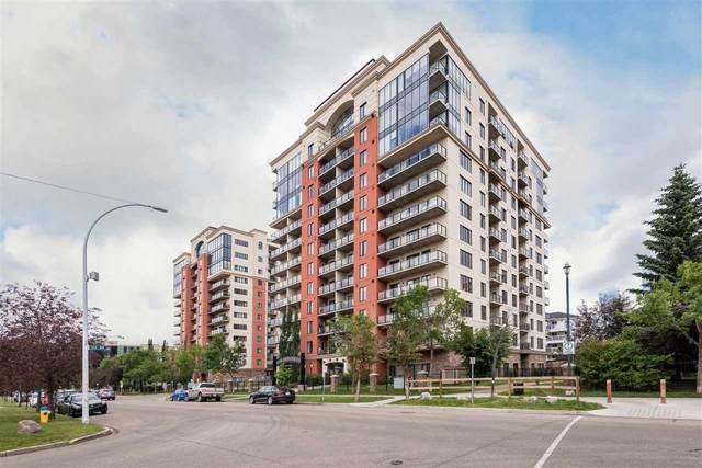 405 10303 111 Street, Edmonton, AB T5K 0C6 (#E4204172) :: Initia Real Estate