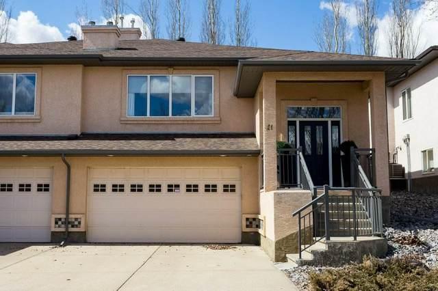 21 50 Oakridge Drive, St. Albert, AB T8N 7A1 (#E4204285) :: Initia Real Estate