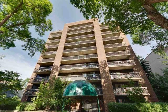 601 9929 113 Street NW, Edmonton, AB T5K 2N9 (#E4204420) :: Initia Real Estate