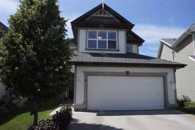 16 Campbell Court, Fort Saskatchewan, AB T8L 0C4 (#E4204822) :: RE/MAX River City