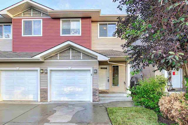 3 15151 43 Street, Edmonton, AB T5Y 0L3 (#E4205233) :: The Foundry Real Estate Company