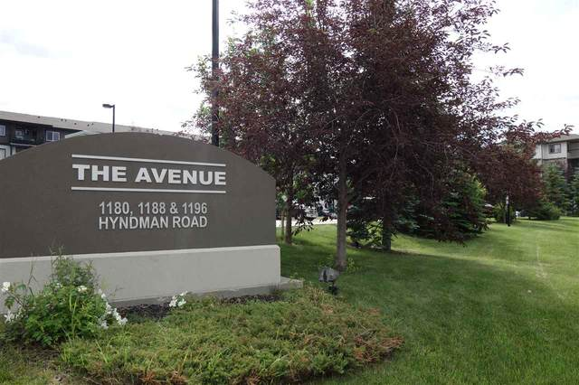 342 1196 Hyndman Road, Edmonton, AB T5A 0X8 (#E4205267) :: RE/MAX River City