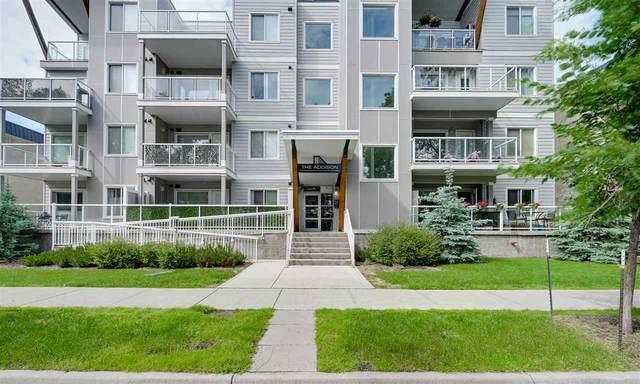405 10030 83 Avenue, Edmonton, AB T6E 2C2 (#E4205494) :: The Foundry Real Estate Company