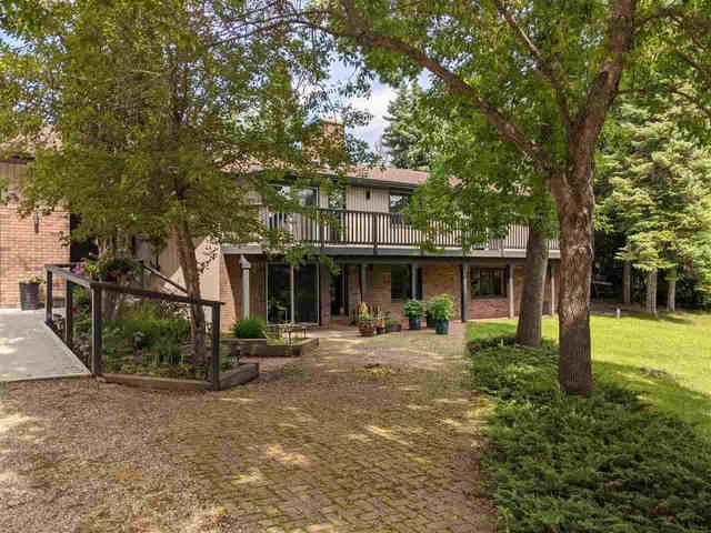 116 Villa Drive, Rural Sturgeon County, AB T8T 0C7 (#E4205541) :: The Foundry Real Estate Company