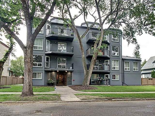 403 9854 88 Avenue, Edmonton, AB T6E 2R3 (#E4205794) :: The Foundry Real Estate Company