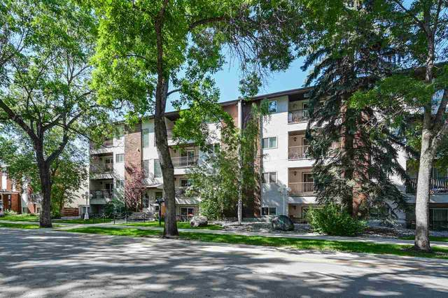 302 10520 80 Avenue, Edmonton, AB T6E 1V3 (#E4207178) :: RE/MAX River City