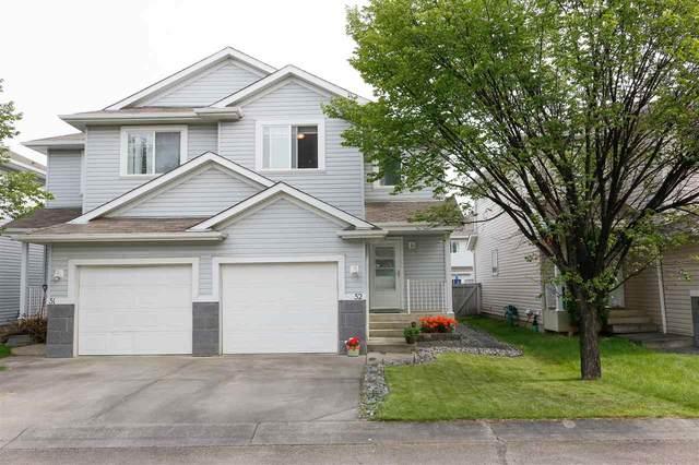 52 4350 23 Street, Edmonton, AB T6T 1X8 (#E4207364) :: RE/MAX River City