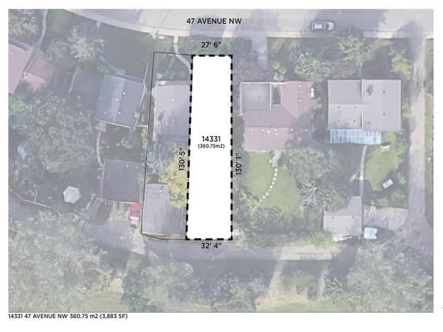 14331 47 Avenue, Edmonton, AB T6H 0B9 (#E4207537) :: Initia Real Estate