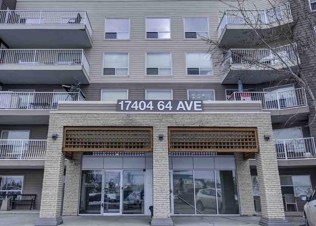 211 17404 64 Avenue, Edmonton, AB T5T 6X4 (#E4207694) :: RE/MAX River City