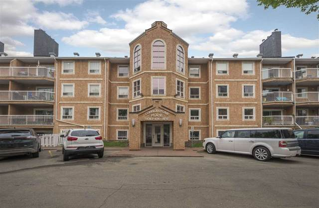 207 9010 106 Avenue, Edmonton, AB T5H 4K3 (#E4207743) :: RE/MAX River City