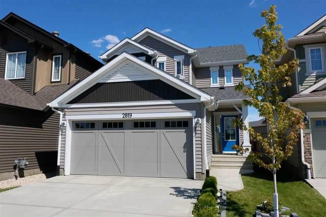 2819 Duke Crescent SW, Edmonton, AB T6W 3Y3 (#E4207909) :: Initia Real Estate