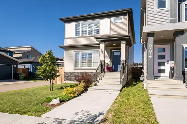 806 Berg Loop, Leduc, AB T9E 1G9 (#E4207988) :: Initia Real Estate