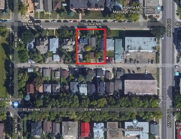 9921 86 Avenue, Edmonton, AB T6E 2L8 (#E4208143) :: RE/MAX River City