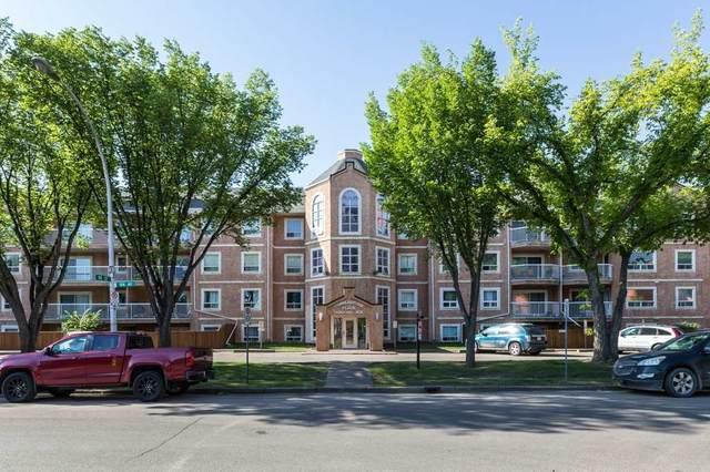 102 9010 106 Avenue, Edmonton, AB T5H 4K3 (#E4208220) :: RE/MAX River City