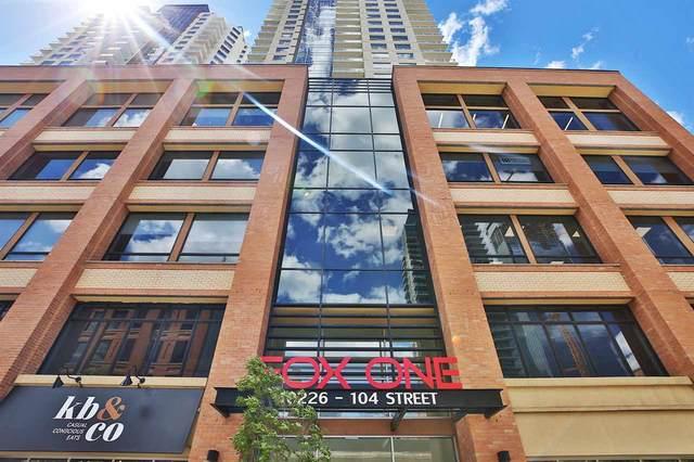 1106 10226 104 Street, Edmonton, AB T5J 1B8 (#E4208425) :: The Foundry Real Estate Company