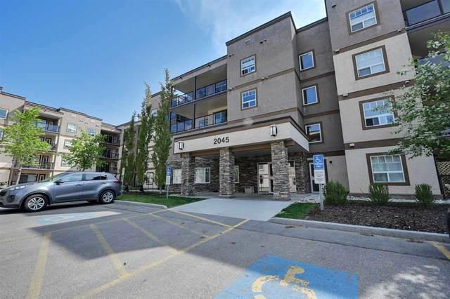 324 2045 Grantham Court, Edmonton, AB T5T 3X6 (#E4208533) :: RE/MAX River City