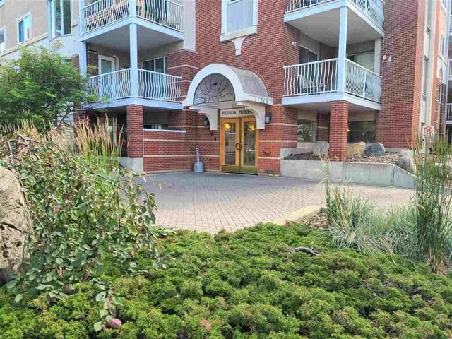 209 11716 100 Avenue, Edmonton, AB T5K 2G3 (#E4208599) :: The Foundry Real Estate Company