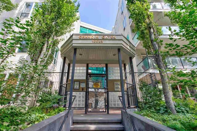 134 10023 110 Street, Edmonton, AB T5K 1J5 (#E4208737) :: The Foundry Real Estate Company