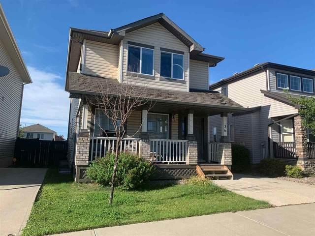 36 Vaughn Avenue, Spruce Grove, AB T7X 4R9 (#E4209016) :: RE/MAX River City