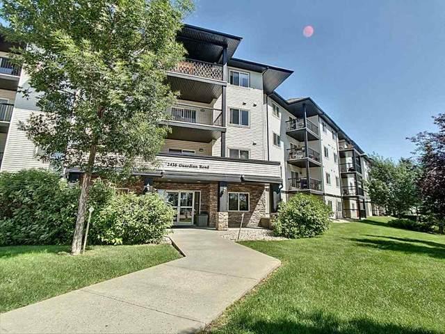 338 2436 Guardian Road, Edmonton, AB T5T 2P5 (#E4209127) :: RE/MAX River City