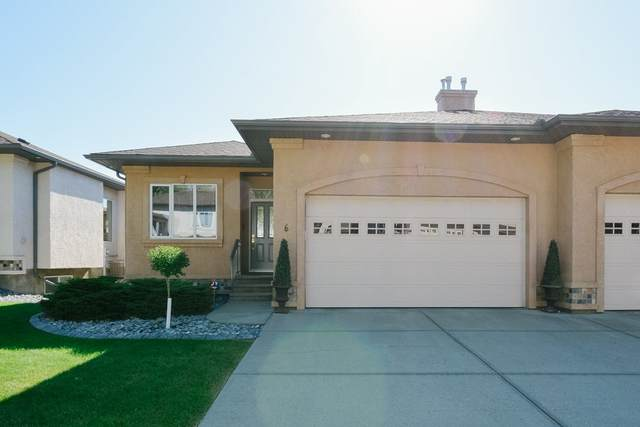 6 50 Oakridge Drive, St. Albert, AB T8N 7A1 (#E4209261) :: RE/MAX River City