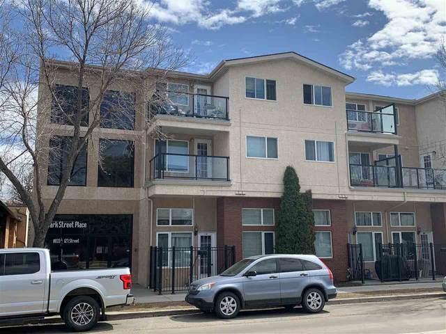 215 11033 127 Street, Edmonton, AB T5M 0T3 (#E4209263) :: RE/MAX River City