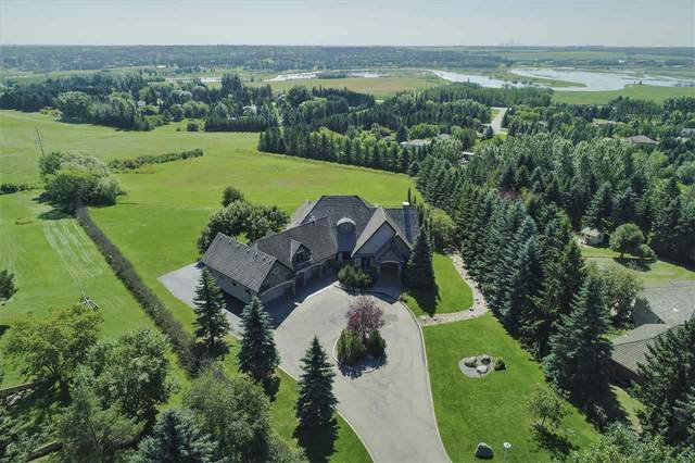 110 River Lane, Rural Sturgeon County, AB T8T 0C9 (#E4209364) :: Initia Real Estate