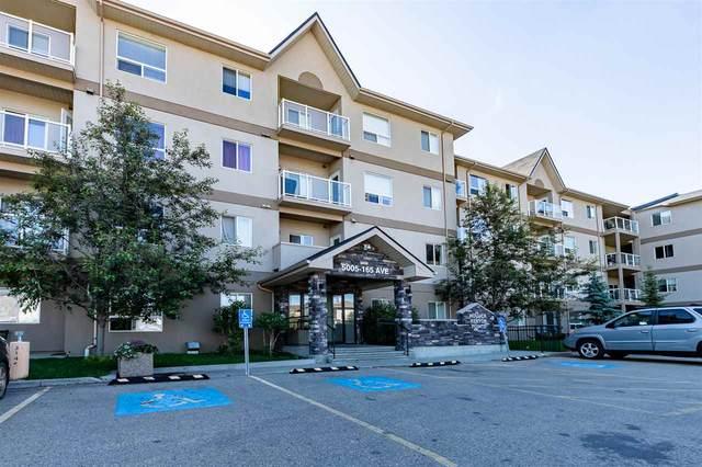 125 5005 165 Avenue, Edmonton, AB T5Y 0L8 (#E4209505) :: RE/MAX River City