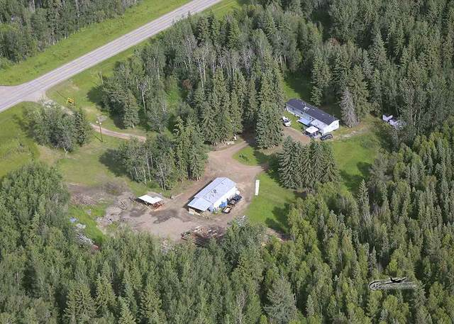 63017 Hwy 831, Rural Thorhild County, AB T0A 0M0 (#E4209549) :: RE/MAX River City