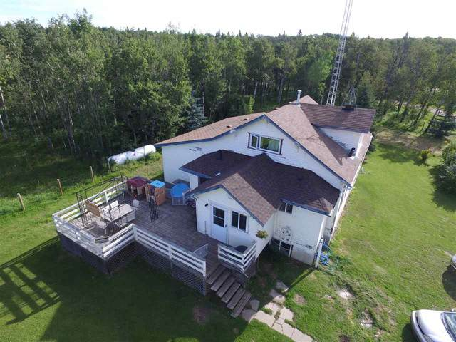 465044 Hwy 795, Rural Wetaskiwin County, AB T0C 1Z0 (#E4209832) :: RE/MAX River City