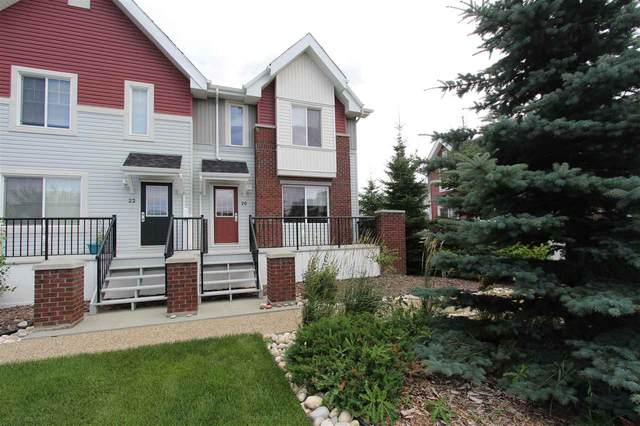 20 2336 Aspen Trail, Sherwood Park, AB T6A 3H2 (#E4210440) :: The Foundry Real Estate Company