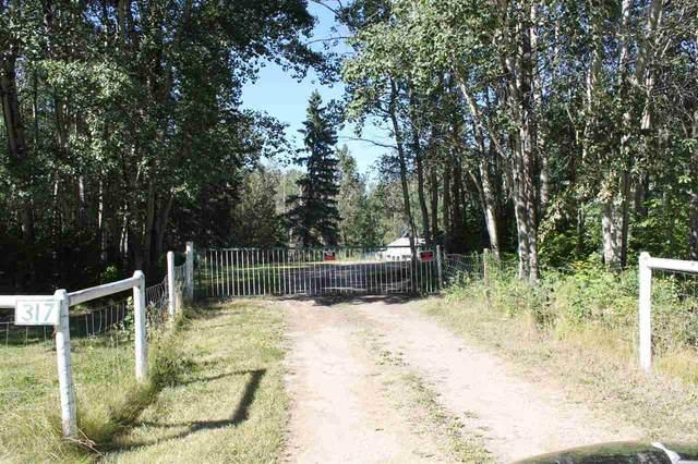 317 53319 Range Road 31, Rural Parkland County, AB T7Y 0E2 (#E4210653) :: Initia Real Estate
