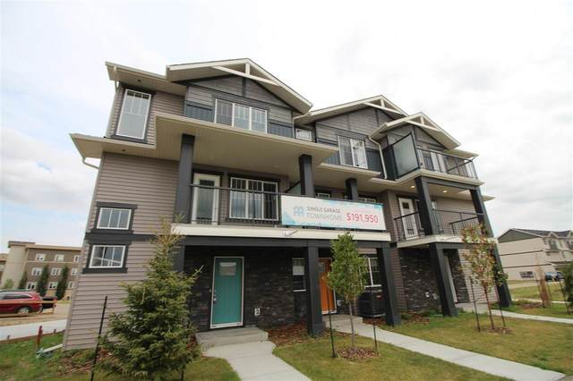 68 50 Mclaughlin Drive, Spruce Grove, AB T7X 0K3 (#E4210989) :: Initia Real Estate