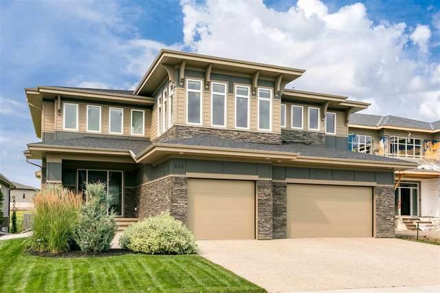 646 Howatt Drive, Edmonton, AB T6W 2T7 (#E4211292) :: Initia Real Estate