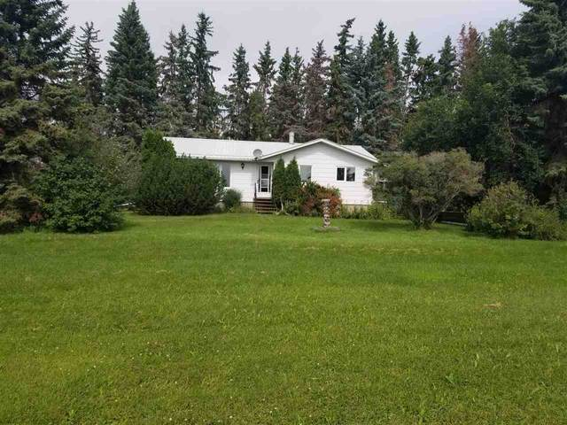 58115 Hwy 28, Rural Thorhild County, AB T0A 2W0 (#E4211607) :: Initia Real Estate