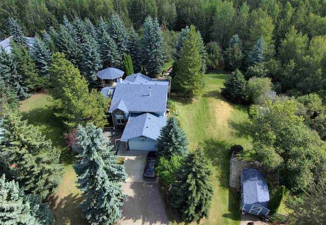 24 53504 RGE RD 274, Rural Parkland County, AB T7X 3T1 (#E4212199) :: The Foundry Real Estate Company