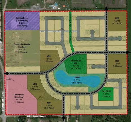 NA Nicolason Rd, Rural Sturgeon County, AB T8T 0C3 (#E4212445) :: Initia Real Estate