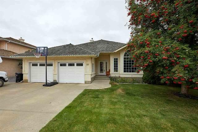10 Stoneshire Manor, Spruce Grove, AB T7X 3E3 (#E4214475) :: Initia Real Estate