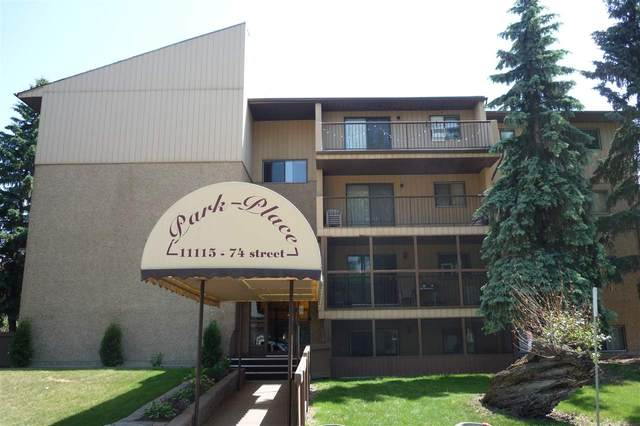 104 11115 74 Street, Edmonton, AB T5B 4S4 (#E4214766) :: Initia Real Estate