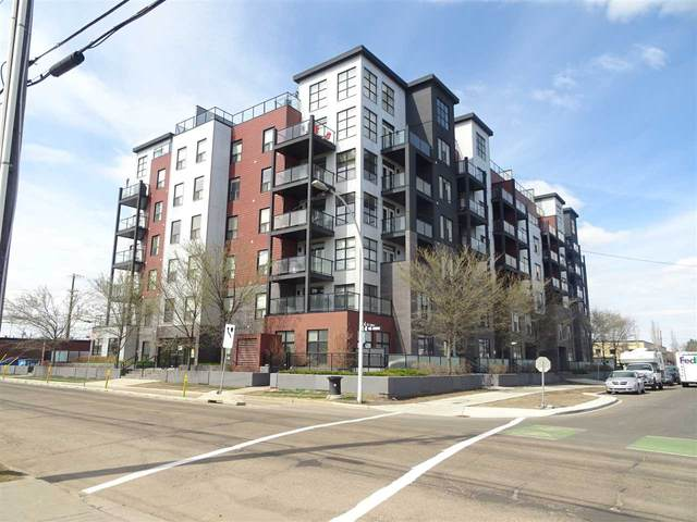 108 10518 113 Street, Edmonton, AB T5H 0C6 (#E4214994) :: Initia Real Estate