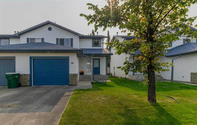 12 3 Grove Meadow Drive, Spruce Grove, AB T7X 4L9 (#E4215006) :: The Foundry Real Estate Company
