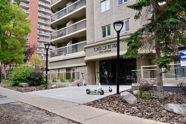 202 9715 110 Street, Edmonton, AB T5K 2M1 (#E4215197) :: The Foundry Real Estate Company