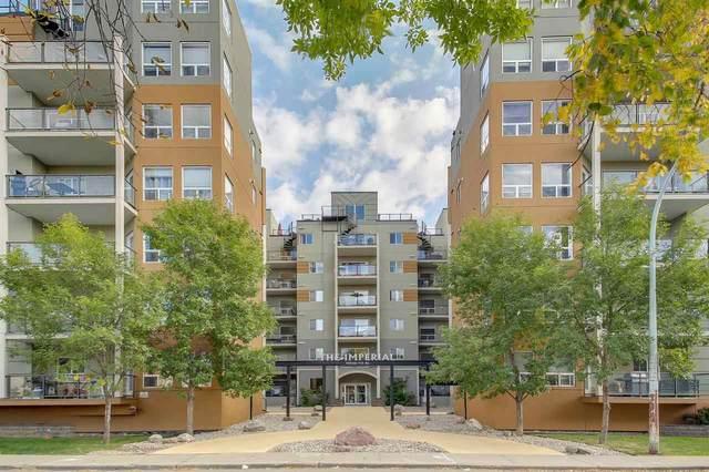 415 10235 112 Street, Edmonton, AB T5K 1M7 (#E4215235) :: The Foundry Real Estate Company