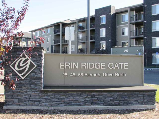 311 25 Element Drive N, St. Albert, AB T8N 7S1 (#E4215621) :: The Foundry Real Estate Company
