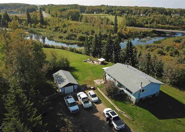 1117 Township Road 551 Road, Rural Lac Ste. Anne County, AB T0E 1V0 (#E4215701) :: Müve Team | RE/MAX Elite