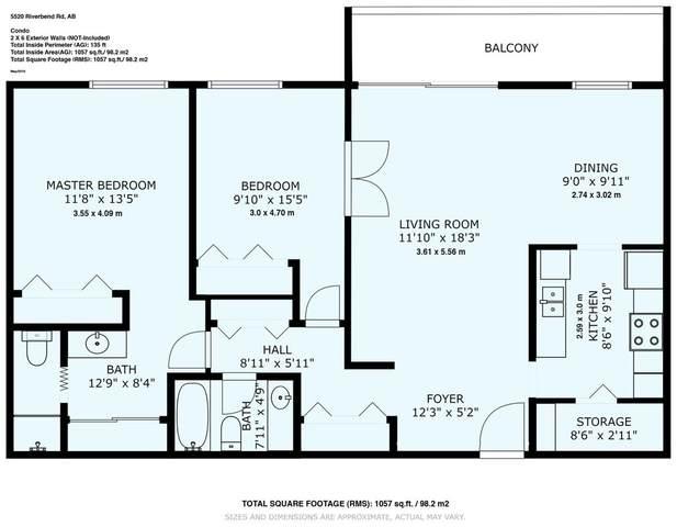 313 5520 Riverbend Road, Edmonton, AB T6H 5G9 (#E4215784) :: Initia Real Estate