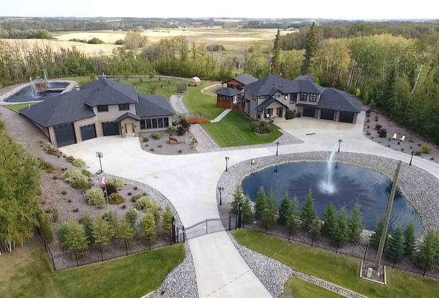 62 53305 RGE RD 273, Rural Parkland County, AB T7X 3N3 (#E4215927) :: The Foundry Real Estate Company