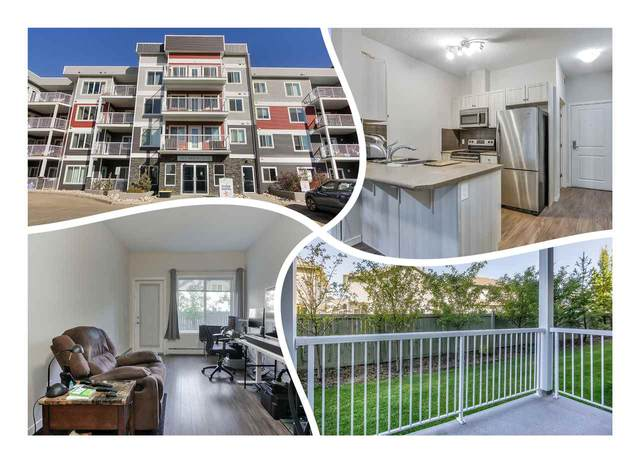 106 1820 Rutherford Road, Edmonton, AB T6W 2K6 (#E4216080) :: The Foundry Real Estate Company