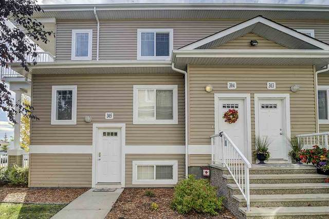 304 164 Bridgeport Boulevard, Leduc, AB T9E 0L3 (#E4216139) :: Initia Real Estate