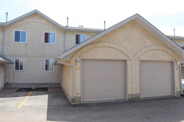 10 14803 34 Street, Edmonton, AB T5Y 2L3 (#E4216368) :: The Foundry Real Estate Company